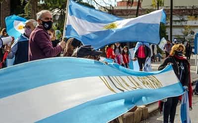 camionetas de lujo y premisas anti cuarentena: ¿la marcha del comercio se diluyó en intereses políticos?
