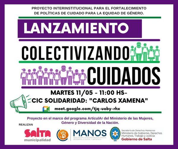 Colectivizando Cuidados: Sembrar el debate para visibilizar la feminización del cuidado en los barrios de Salta