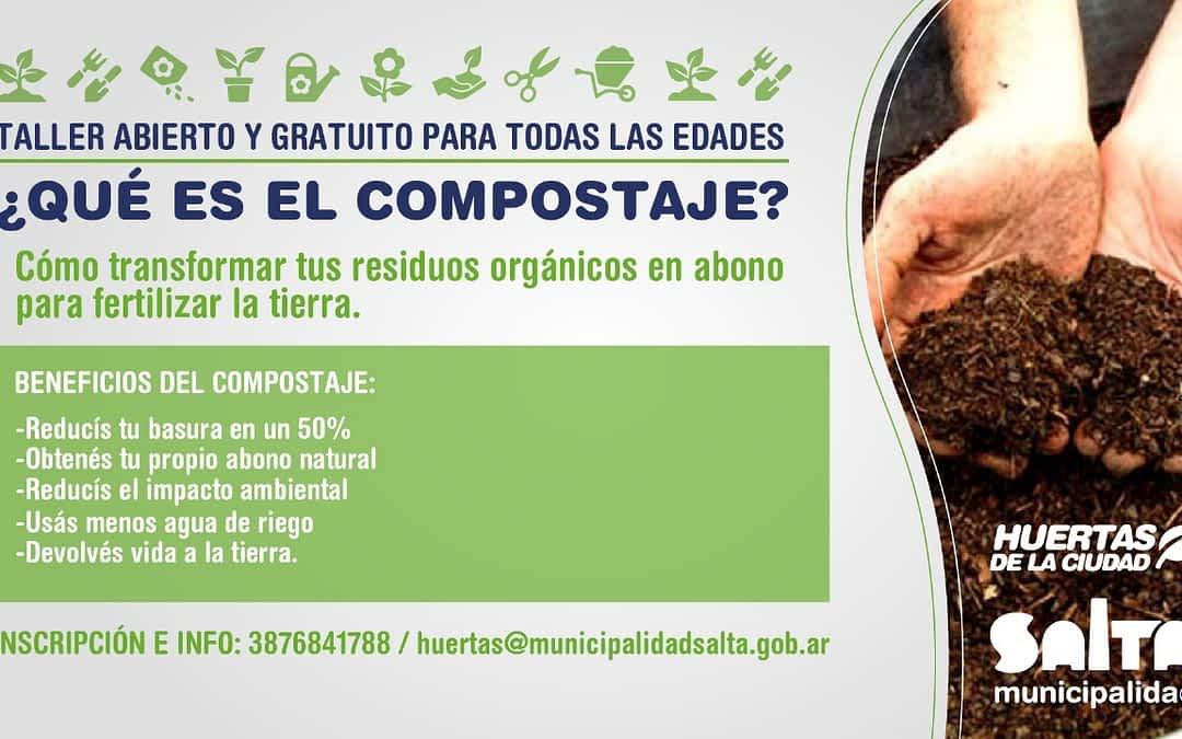 No te los pierdas: talleres de compost ¿Qué es?